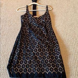 Short Black Pattern